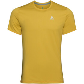 Odlo BL FLI SS Top Crew Neck Herren lemon curry